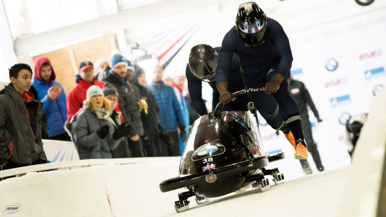 great britain bobsleigh start
