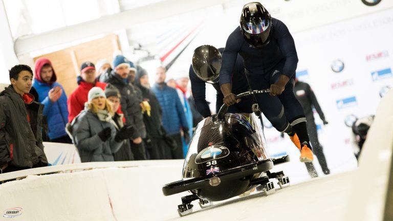 great britain bobsleigh start