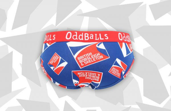 Oddballs bobsleigh skeleton WOMENS Briefs back