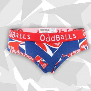 Oddballs bobsleigh skeleton WOMENS Briefs Front