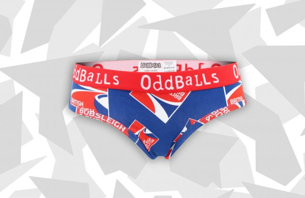 Oddballs bobsleigh skeleton WOMENS Briefs Front