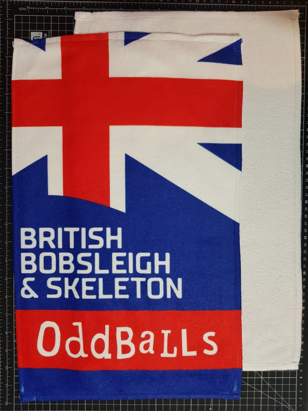 oddballs bobsleigh sport towel