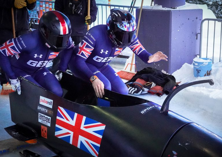 Park City bobsleigh Push